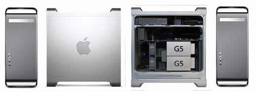 Power Mac G5 - clean custom upgraded  used Mac G5's stock